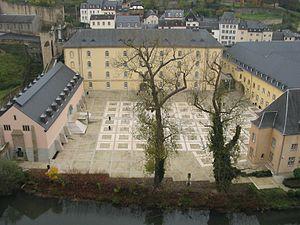 Neumünster Abbey - Neumünster Abbey after restoration