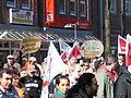 1. Mai 2013 in Hannover. Gute Arbeit. Sichere Rente. Soziales Europa. Umzug vom Freizeitheim Linden zum Klagesmarkt. Menschen und Aktivitäten (048).jpg