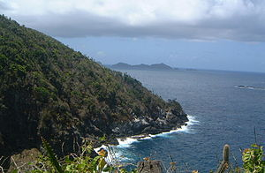 Little Tobago - Looking across to St. Giles Island from Little Tobago