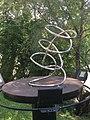 1090 Roßauer Lände - Summer Stage-Skulpturengarten - Raumlinien (3) von Manfred Wakolbinger 2017 IMG 4882.jpg