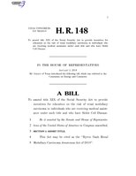 116th United States Congress H. R. 0000148 (1st session) - Byron Nash Renal Medullary Carcinoma Awareness Act of 2019.pdf