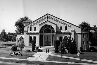 Santa Maria, California - The Ethel Pope Auditorium at Santa Maria High School