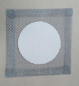 Wire gauze - Image: 12.5cm by 12.5cm Wire Gauze
