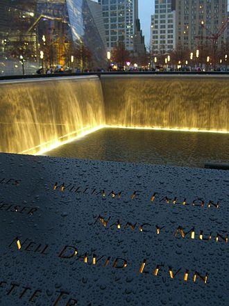 Neil David Levin - Levin's name is located on Panel N-65 of the National September 11 Memorial's North Pool.