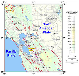 Hayward Fault Zone geological fault