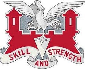 130th Engineer Battalion - Distinctive Unit Insignia of the 130th Engineer Battalion