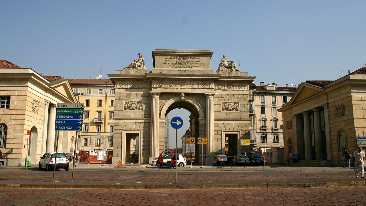 File 1352 milano giacomo moraglia porta garibaldi - Da porta garibaldi a milano centrale ...