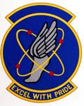 142 Resources Management Sq emblem (revised 1991).png