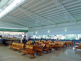 Rafael Núñez International Airport - The airport's international terminal
