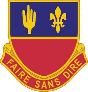 1st Battalion, 161st Field Artillery Regiment (United States) - Image: 161 Field Artillery Distinctive Unit Insignia