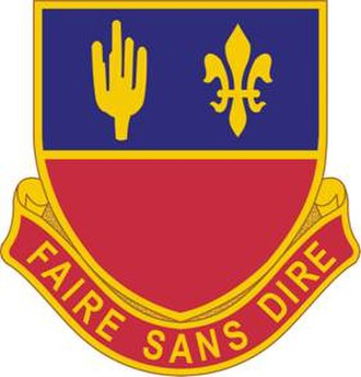 1st Battalion, 161st Field Artillery Regiment (United States) - Image: 161 Field Artillery Distinctive Unit Insignia
