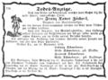 1849-09-16 Todes-Anzeige Franz Xaver Zächerl (Der Bayerische Eilbote).png