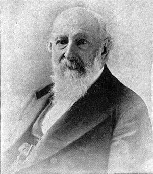 George Loring Brown - Portrait of George L. Brown