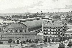 1898, Panorama nacional, Vista panorámica de Madrid, Compañy (cropped).jpg