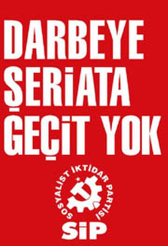 Communist Party of Turkey (current) - No way out for coup or sharia