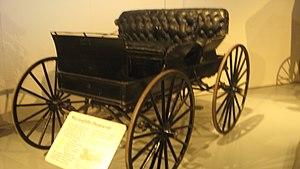 McLaughlin Motor Car Company - 1910s Democrat buckboard