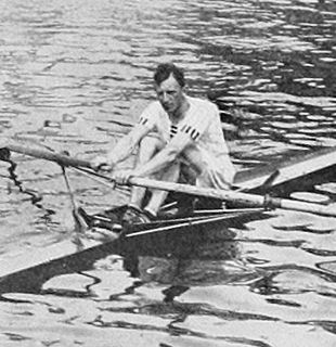 Wally Kinnear British rower