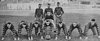 Carleton Knights football - Image: 1916 Carleton College football team