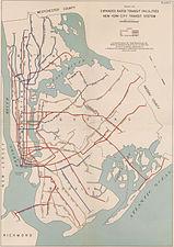 Nyc Subway Map From 2000.New York City Subway Map Wikipedia