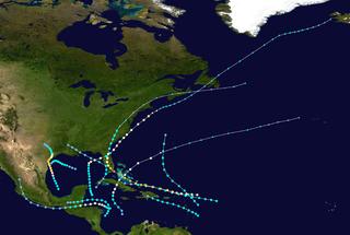 1945 Atlantic hurricane season Hurricane season 1945 in the Atlantic Ocean