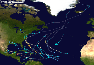 1955 Atlantic hurricane season hurricane season in the Atlantic Ocean