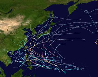 1959 Pacific typhoon season typhoon season in the Pacific Ocean