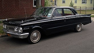 Mercury Comet - 1962 Mercury Comet 4-door sedan