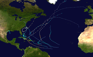 1963 Atlantic hurricane season hurricane season in the Atlantic Ocean