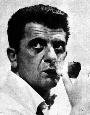 Nanni Loy - Nanni Loy in Radiocorriere magazine, 1966