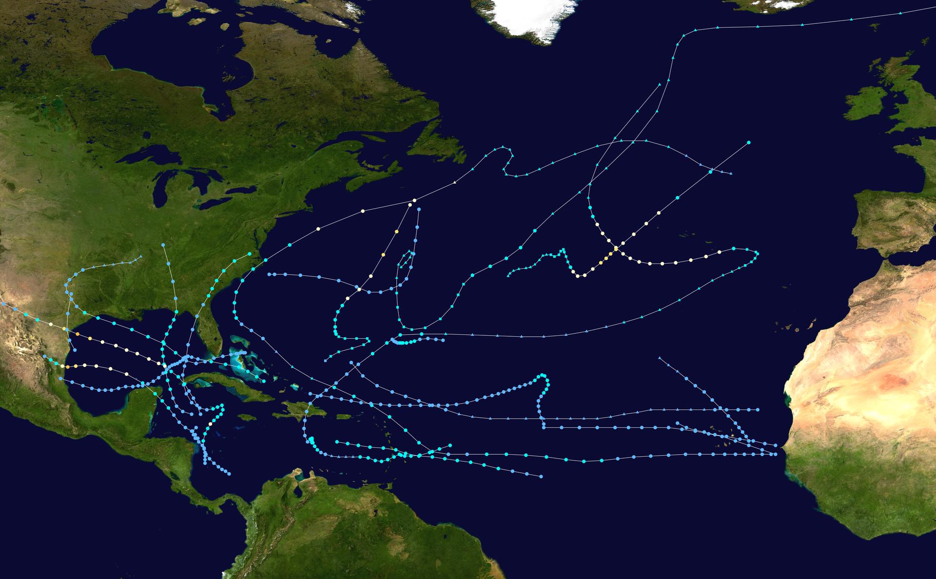 1970 Atlantic hurricane season - Wikipedia