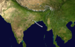 1970 Indian cyclone 6 track.png