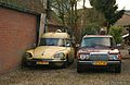 1973 Citroën DS Ambulance & 1980 Mercedes-Benz 240 TD (11713020136).jpg