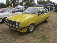 La Ford Escort australiana dopo il restyling