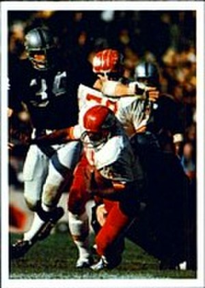1969 Kansas City Chiefs season - Image: 1986 Jeno's Pizza 49 Robert Holmes