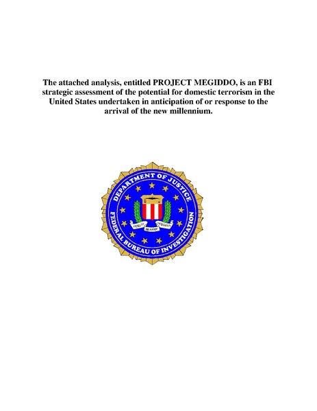 File:1999 FBI Project Megiddo.pdf