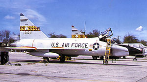 199th Fighter Squadron - TF-102A Delta Dagger 55-4041, Hawaii ANG, 1964
