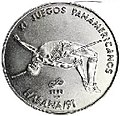 1 песо. Куба. 1990. XI Пан-Американские игры, Гавана - Прыжки в высоту.jpg