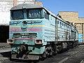 2ТЭ10М-0596, Казахстан, Карагандинская область, депо Караганда-Сортировочная (Trainpix 109284).jpg