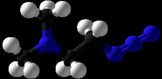 2-Dimethylaminoethylazide chemical compound