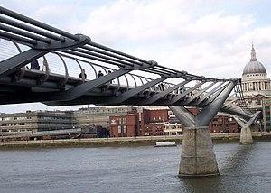 Eurocodes - Image: 2005 01 07 United Kingdom England London Millennium Bridge and St. Paul's Miscellenaeous 4887146343