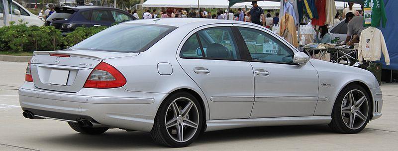 2006-2009 Mercedes-Benz E63 AMG rear.jpg