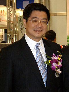 Cho Jung-tai Taiwanese politician