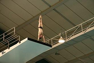 Scott Robertson (diver) - Image: 2008 Olympic Trials