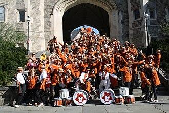 Princeton University Band - Image: 2010 PUB crazy