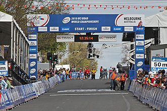 2010 UCI Road World Championships - Image: 2010 UCI Road World Championships, Geelong, Aust 2, jjron, 30.9.2010