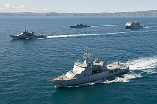 Royal New Zealand Navy maritime arm of the New Zealand Defence Force