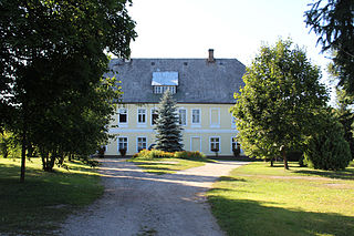 Krasna Góra Village in Opole Voivodeship, Poland
