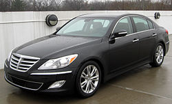Hyundai Genesis 3.8 sedan (US) 2012
