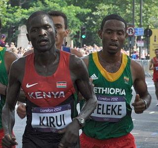 Getu Feleke Ethiopian long-distance runner