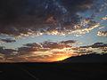 2014-09-15 06 29 04 View east during sunrise along Interstate 80 near milepost 331 near Deeth, Nevada.JPG